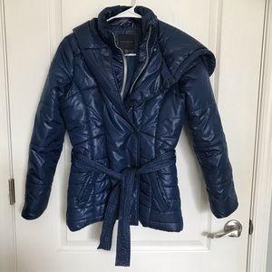 Tommy Hilfiger Belted Puffer Winter Coat